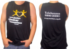 Loja Morhan - Camiseta Regata Preta