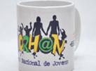 Loja Morhan - Caneca Porcelana - Encontro Jovem do Morhan