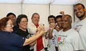 Lula se reencontra com movimento de pessoas atingidas pela hanseníase