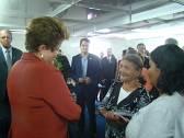 Presidente Dilma recebe voluntários do Morhan da Colônia de Santa Izabel/MG
