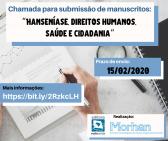 Morhan e Rede Unida lançam chamada de artigos sobre hanseníase