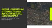 Denúncia: Loteamento ilegal de terrenos e pressão da milícia no antigo hospital-colônia de Curupaiti