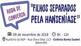 Convidada internacional participa de roda de conversa em Betim sobre os filhos separados pela hanseníase