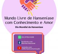 Marca Global Dia Mundial da Hanseníase (BANNER PADRÃO PARA OS NÚCLEOS)