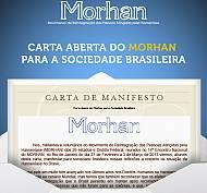 Carta aberta do Morhan para a Sociedade Brasileira