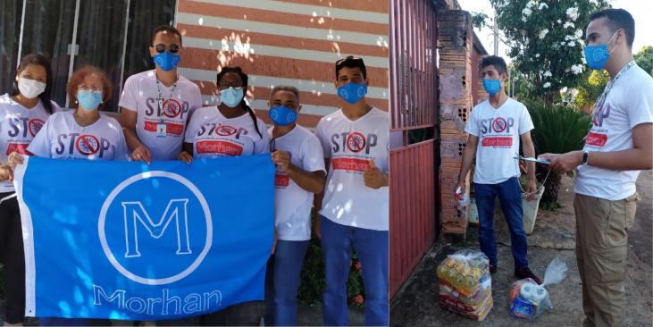 Cooperação internacional garante apoio emergencial a famílias atingidas pela hanseníase em Mato Grosso e Goiás