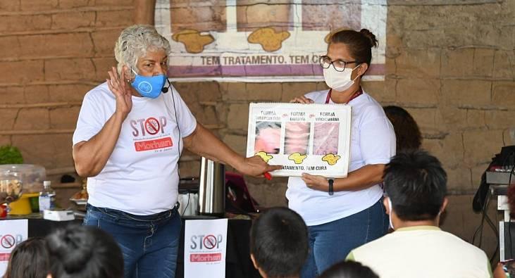 Ação mobiliza cooperação internacional para apoio emergencial a famílias atingidas pela hanseníase no Rio de Janeiro