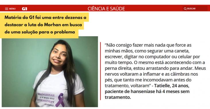 Em busca de solução definitiva para a falta de medicamentos para tratamento da hanseníase no Brasil, movimento dos pacientes defende produção nacional