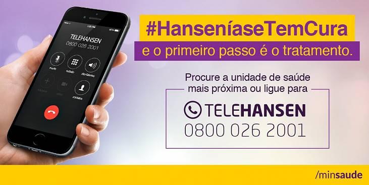 Campanha Nacional do Ministério da Saúde divulga o TeleHansen à população