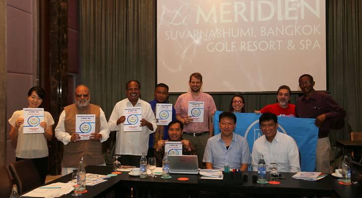 Na Tailândia, Morhan se reúne com associações da Índia, Indonésia a Etiópia