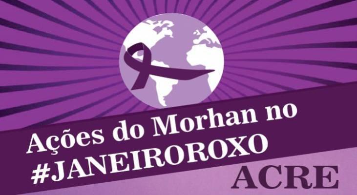 Janeiro Roxo - Em Rio Branco/AC, Dia D de luta contra a hanseníase acontece no dia 31 de janeiro