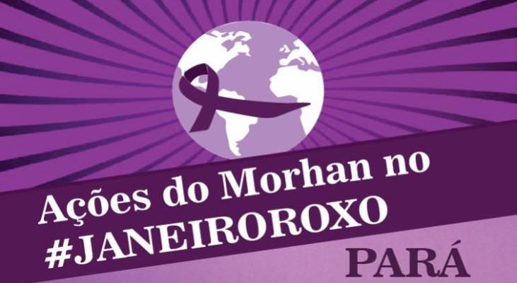 Janeiro Roxo - Marituba (PA) tem intensa programação de enfrentamento à hanseníase