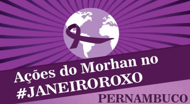 Janeiro Roxo - Em Recife/PE, ação chama a atenção para a importância do diagnóstico precoce da hanseníase