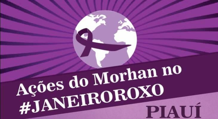 Janeiro Roxo - Piauí ganha intensa mobilização de conscientização e luta contra a hanseníase