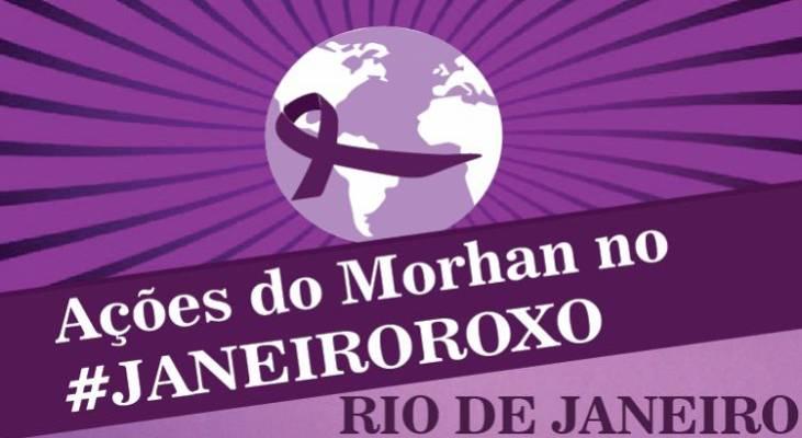 Janeiro Roxo - Capacitações e mobilização social marcam programação de luta contra a hanseníase no Rio de Janeiro