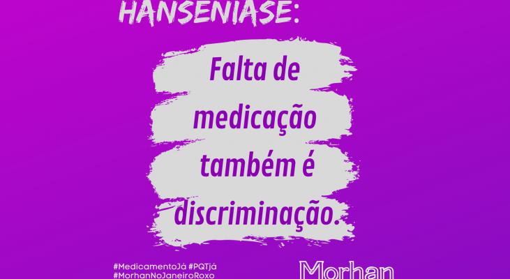 Em pleno mês de conscientização sobre a hanseníase, Brasil tem falta de medicamentos para tratamento da doença