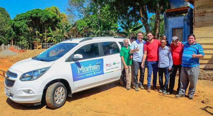 Morhan/Acre celebra construção de UBS em bairro ocupado por ex-moradores da Colônia Souza Araújo
