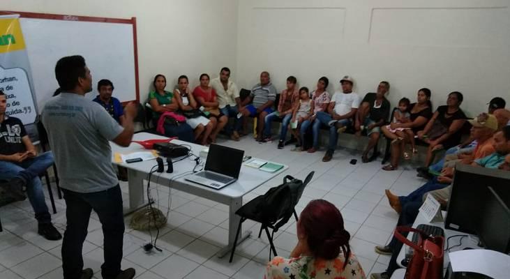 Morhan Acre faz atividade no município de Brasiléia