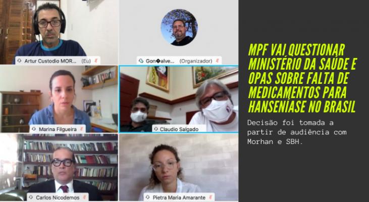MPF vai oficiar Ministério da Saúde e OPAs para esclarecimentos sobre falta de medicamentos para hanseníase no Brasil