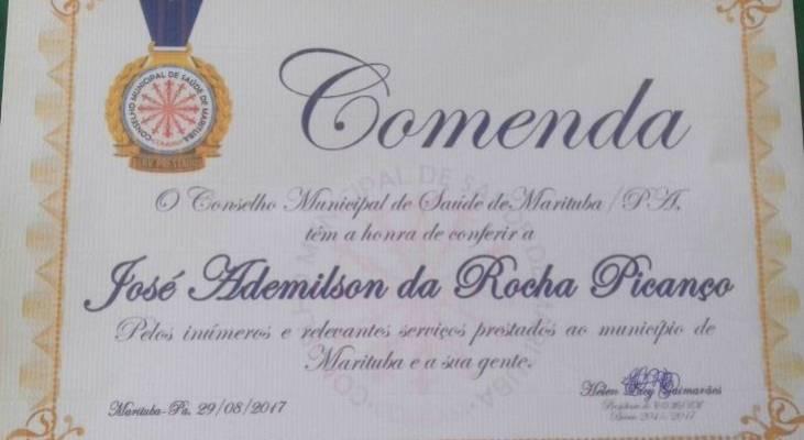 Militante do Morhan recebe homenagem do município de Marituba