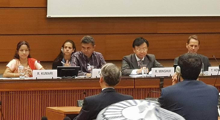 DISCURSO: Faustino Pinto fala à ONU sobre os obstáculos para a superação da hanseníase no Brasil