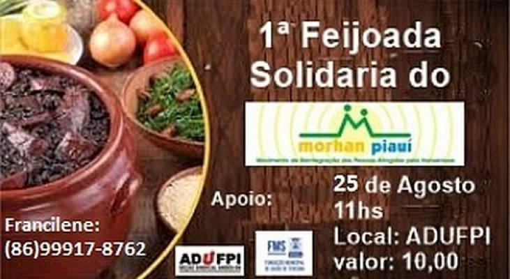 Morhan Piauí convida para Feijoada Solidária