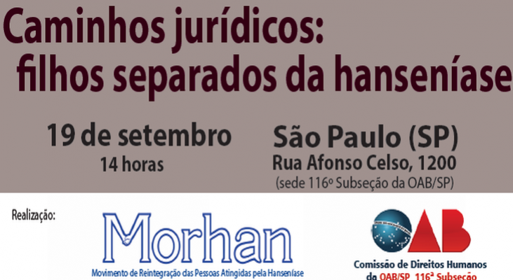 Mobilização em defesa dos direitos dos filhos separados pela política de isolamento da hanseníase pode ganhar estratégia jurídica no Brasil