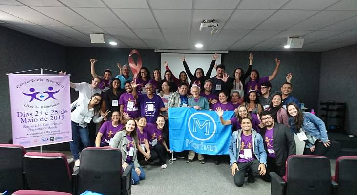 Ativistas defenderão os direitos das pessoas atingidas pela hanseníase na 16ª Conferência Nacional de Saúde