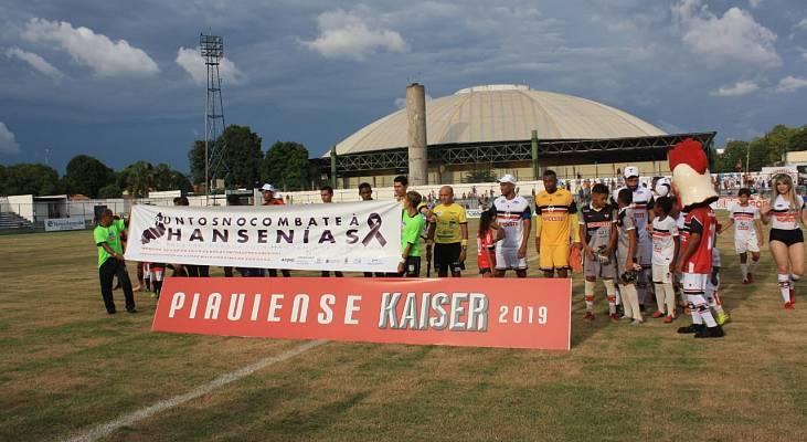 Parceria com a Federação de Futebol do Piauí leva informação sobre hanseníase aos amantes do esporte