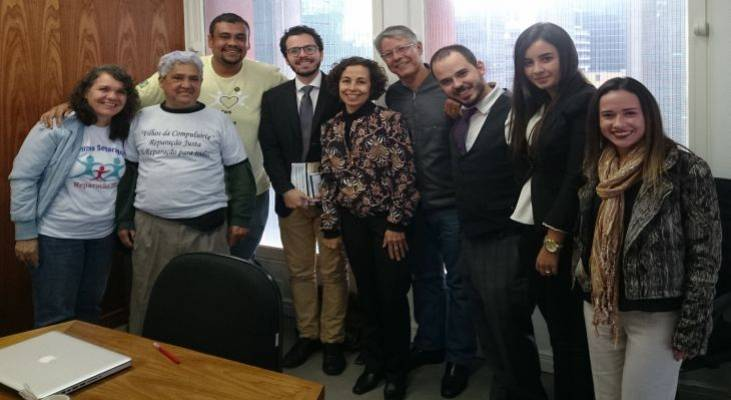 Morhan anuncia medidas jurídicas em reforço à luta pela indenização dos filhos separados