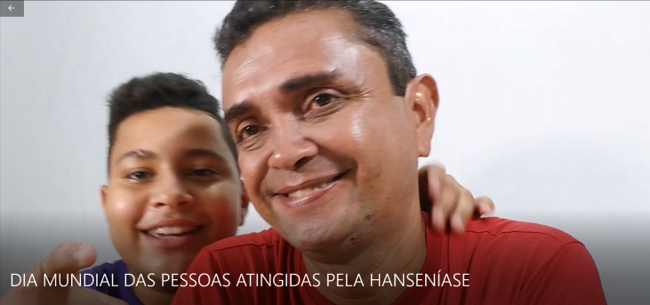 VÍDEO: Dia Mundial das pessoas atingidas pela hanseníase e o Dia Nacional de luta contra a doença