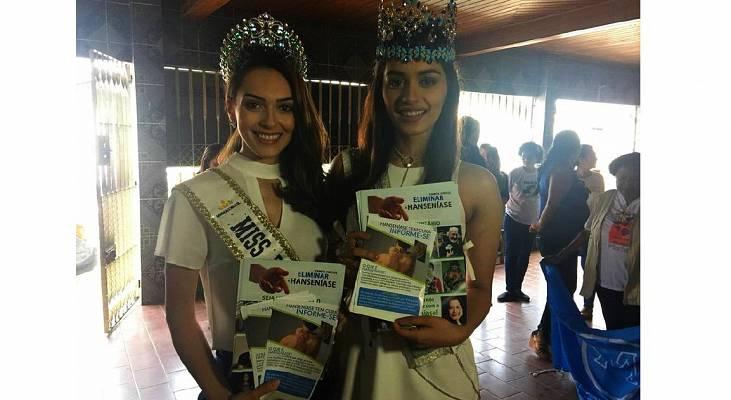 Parceria com o Morhan leva Miss Mundo a atuar no enfrentamento da hanseníase no Pará