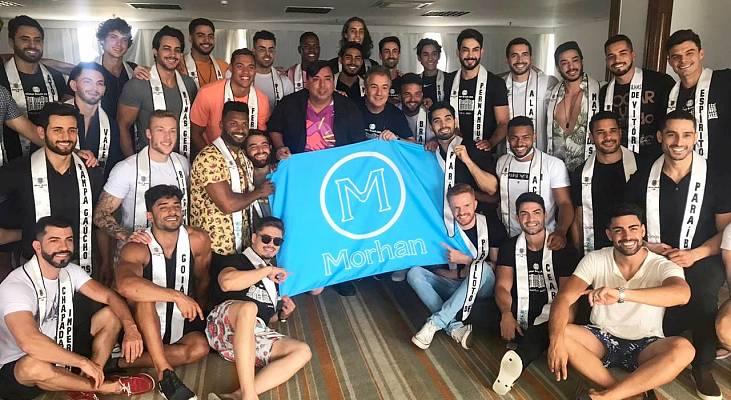 Mister Brasil CNB 2020, William Gama, se junta ao Morhan para ação social no Pará