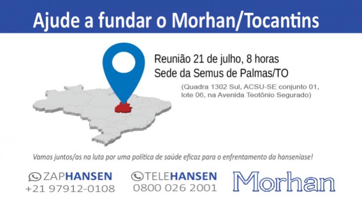 Morhan mobiliza usuários e agentes de saúde em Tocantins
