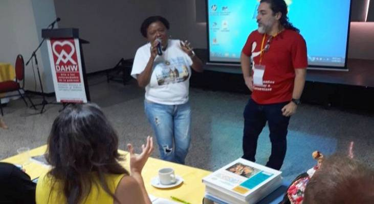 Morhan participa de encontro de associações de pessoas atingidas pela hanseníase na Colômbia