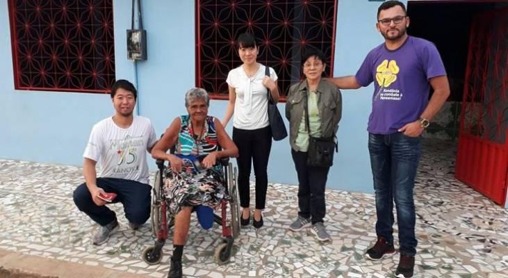 Representantes de instituição do Japão conhecem projeto do Morhan no Acre
