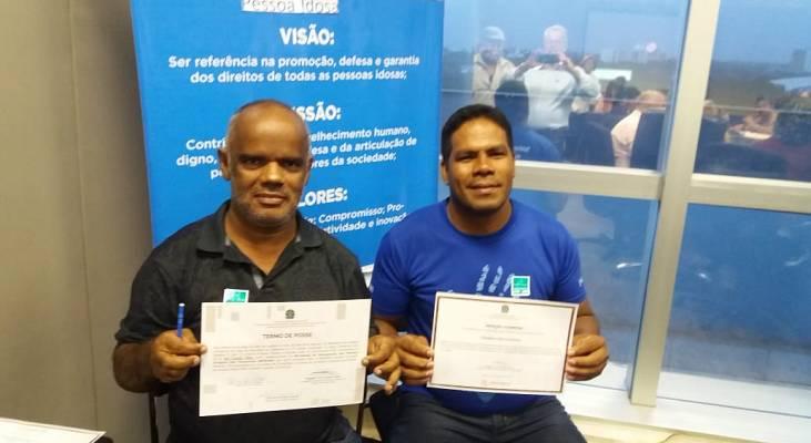 Voluntários do Morhan tomam posse no Conselho Nacional dos Direitos da Pessoa Idosa