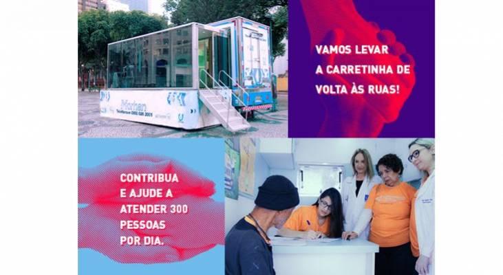 Morhan lança campanha de financiamento coletivo da Carretinha da Saúde, colabore!