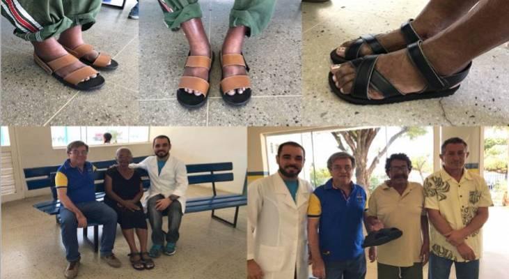 Sapataria de Juazeiro do Norte retoma funcionamento e entrega seus primeiros calçados ortopédicos