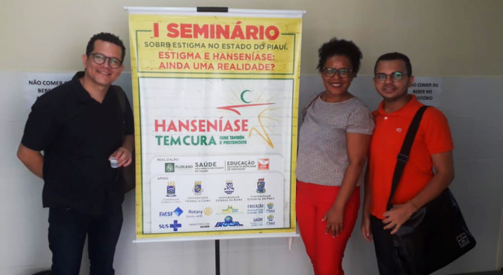 Morhan participa de projeto piloto para vencer o estigma relacionado à hanseníase em Floriano/PI