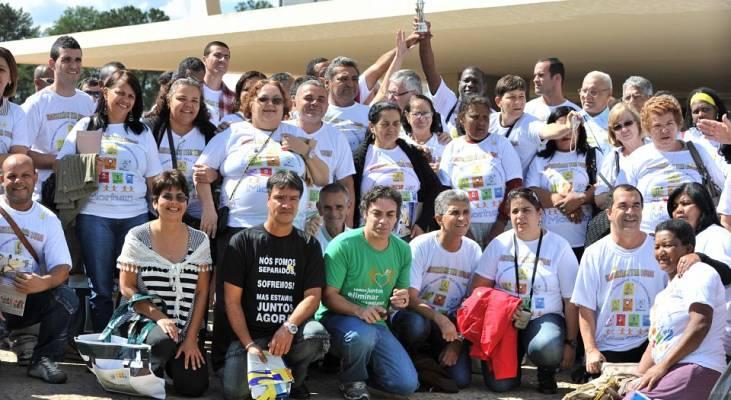 Mobilizações do MORHAN vira marca na Esplanada dos Ministérios e no Congresso Nacional