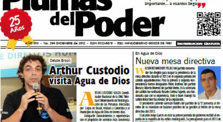 O Morhan é notícia na Colômbia.