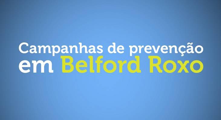 Campanha de prevenção em Belford Roxo
