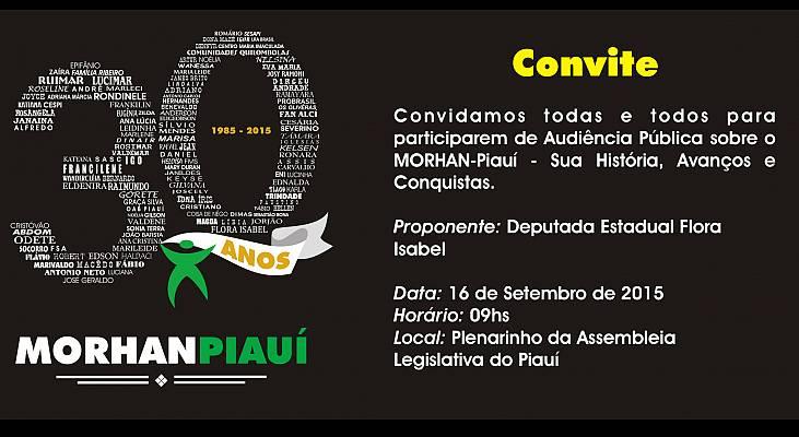 Convite MORHAN Piaui