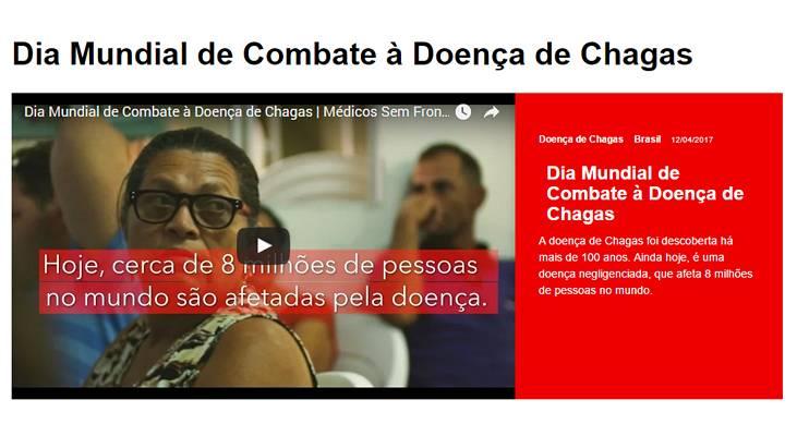 Dia Mundial do Combate à Doença de Chagas