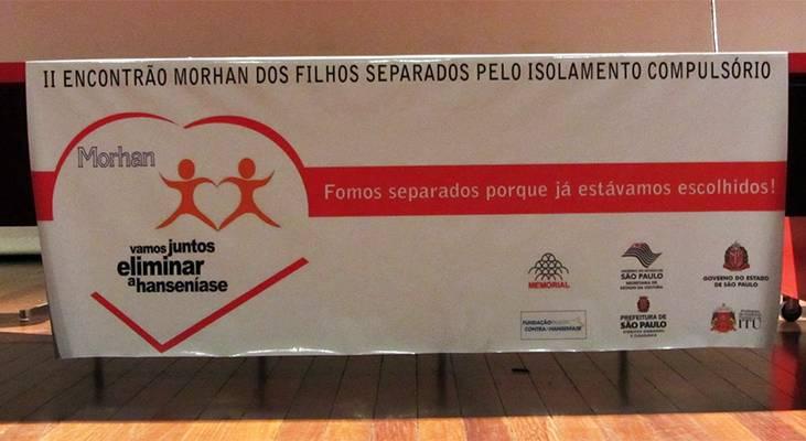 II Encontrão MORHAN dos Filhos Separados pelo Isolamento Compulsório