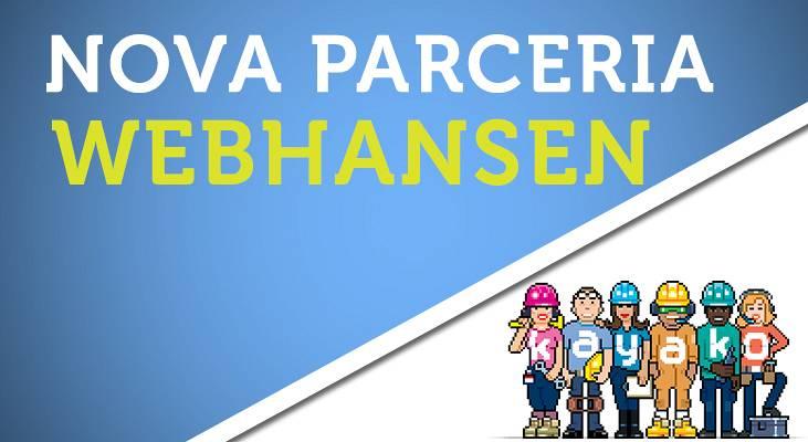 Nova parceria para o webhansen e telehansen