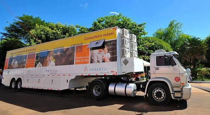 Carreta da Saúde chega a São José do Rio Preto