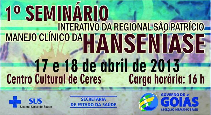 Regional São Patrício realiza Seminário de Manejo Clínico da Hanseníase