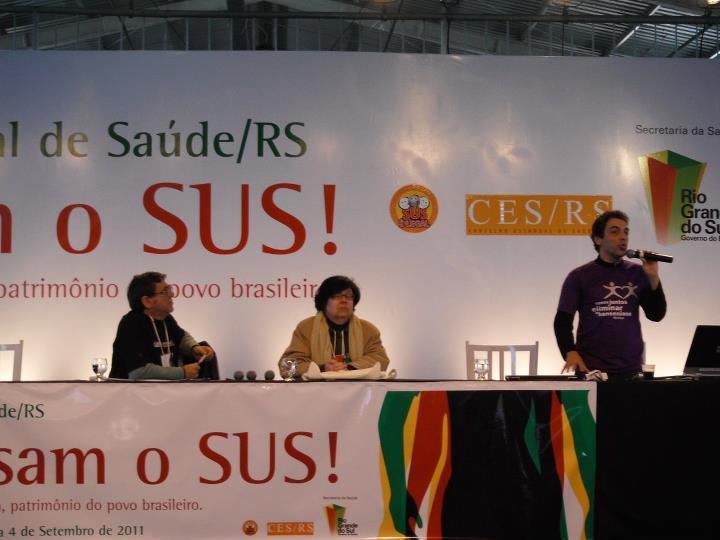 6ª CONFERÊNCIA DA SAÚDE RS - 2º DIA